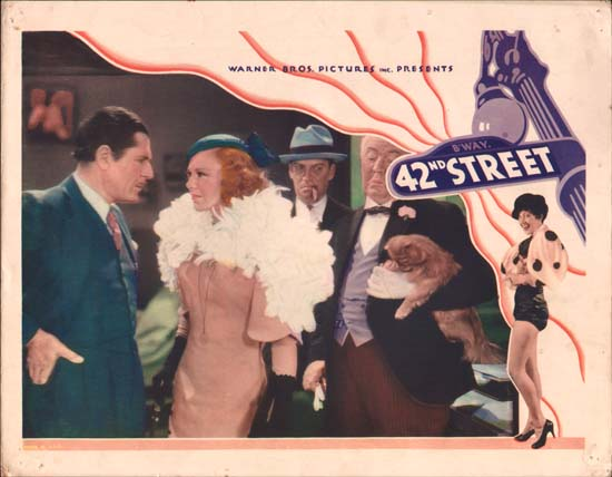 42nd Street US Lobby Card