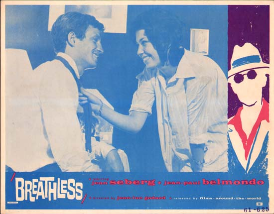 A Bout de Souffle [ Breathless ] US Lobby Card
