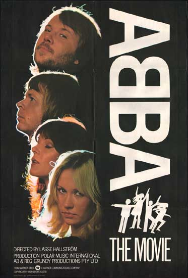 ABBA The Movie UK One Sheet movie poster
