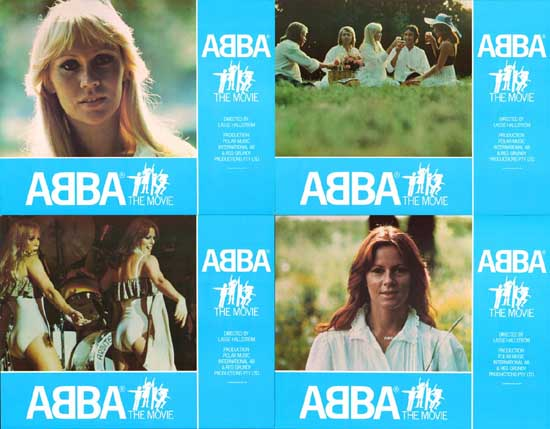 ABBA The Movie UK Lobby Card Set of 10