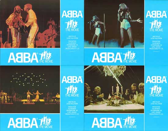 Image 2 of ABBA The Movie UK Lobby Card Set of 10