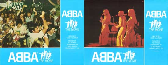 Image 3 of ABBA The Movie UK Lobby Card Set of 10