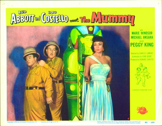 Abbott and Costello Meet the Mummy US Lobby Card number 6