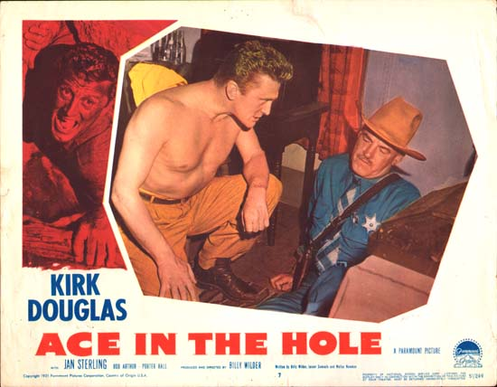 Ace in the Hole [ The Big Carnival ] US Lobby Card number 7