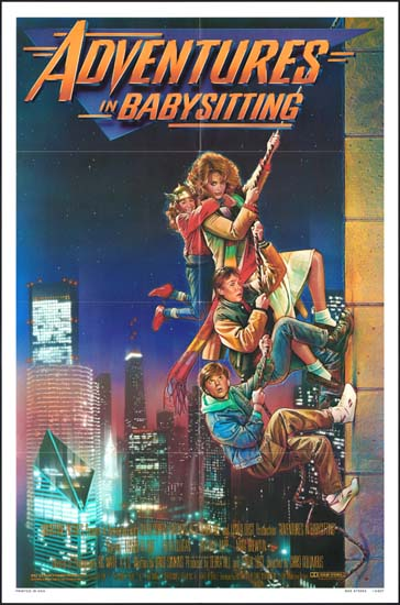 Adventures in Babysitting US One Sheet movie poster