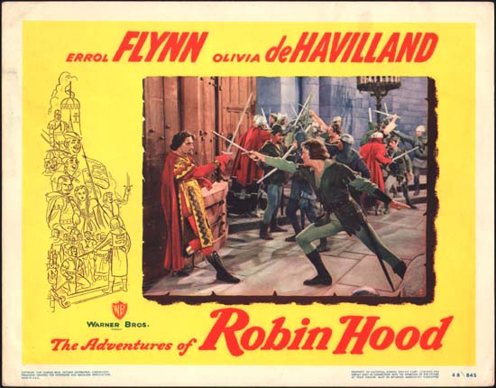 Adventures of Robin Hood, The US Lobby Card number 5