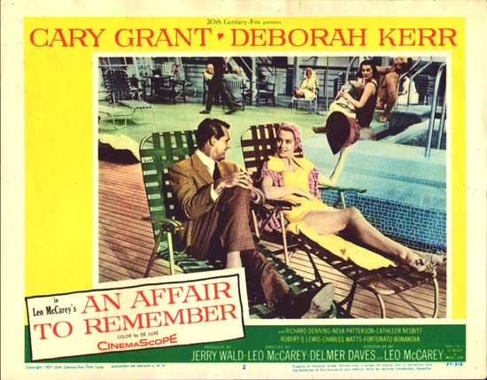 Affair to Remember,An US Lobby Card number 2