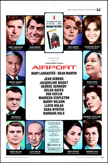 Airport US One Sheet movie poster