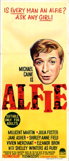 Alfie original film poster | Movie Poster Studio 713