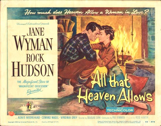 All That Heaven Allows US Title Lobby Card