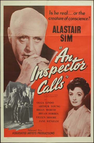 Inspector Calls, An US One Sheet movie poster