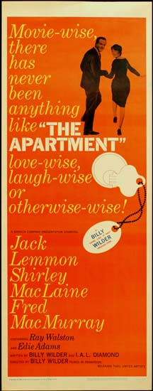 Apartment, The US Insert movie poster