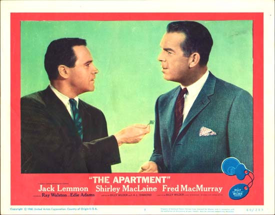 Apartment, The US Lobby Card number 7