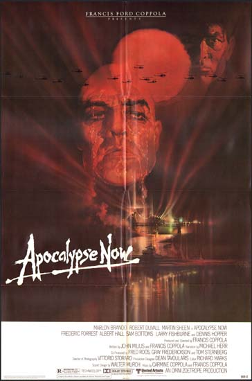 Apocalypse Now US One Sheet movie poster