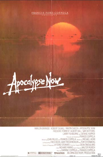 Apocalypse Now US One Sheet advance movie poster