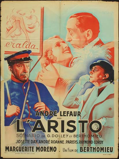 Aristo, L' French movie poster