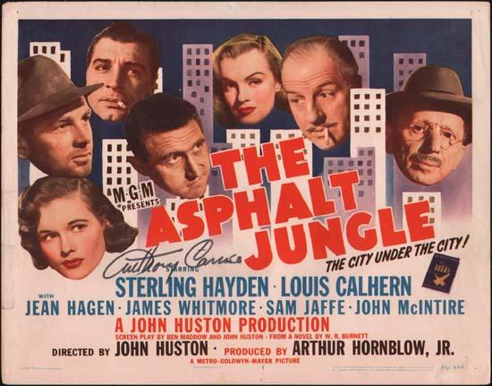 Asphalt Jungle, The US Title Lobby Card