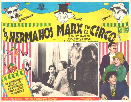 At The Circus Mexican Lobby Card