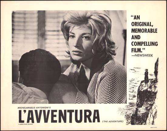 Avventura, L' [ The Adventure ] US Lobby Card