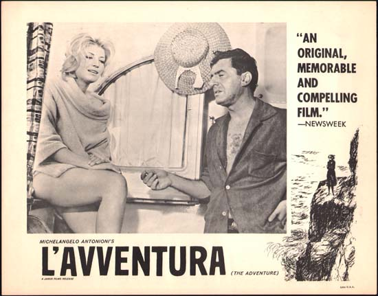 Avventura, L' [ The Adventure ] US Lobby Card