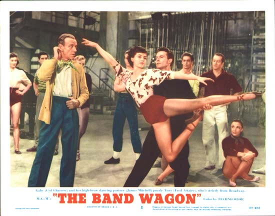 Band Wagon, The US Lobby Card number 2
