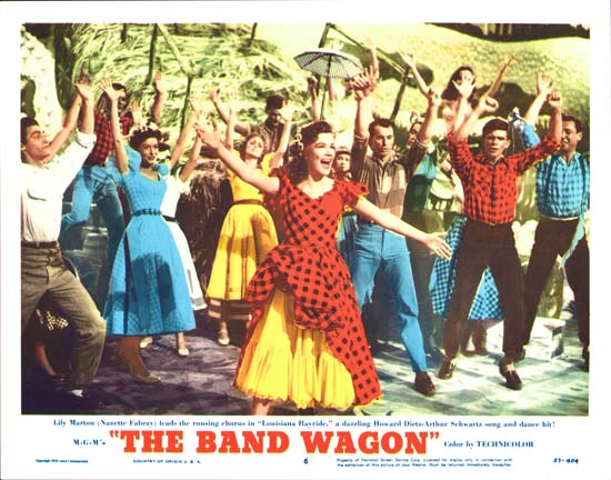 Band Wagon, The US Lobby Card number 6
