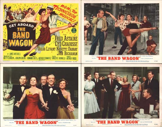 Band Wagon, The US Lobby Card set of 8