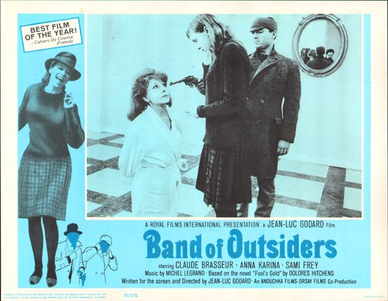 Bande a Part [ Band of Outsiders ] US Lobby Card d