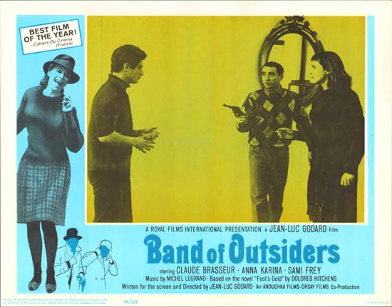 Bande a Part [ Band of Outsiders ] US Lobby Card e