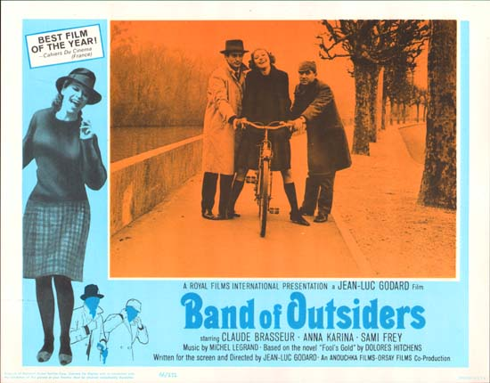 Bande a Part [ Band of Outsiders ] US Lobby Card g