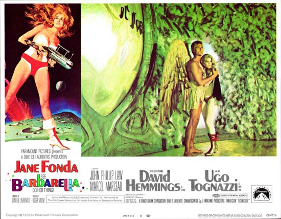 Barbarella US Lobby Card number 4