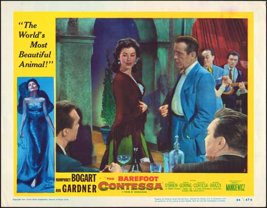 Barefoot Contessa, The US Lobby Card number 2