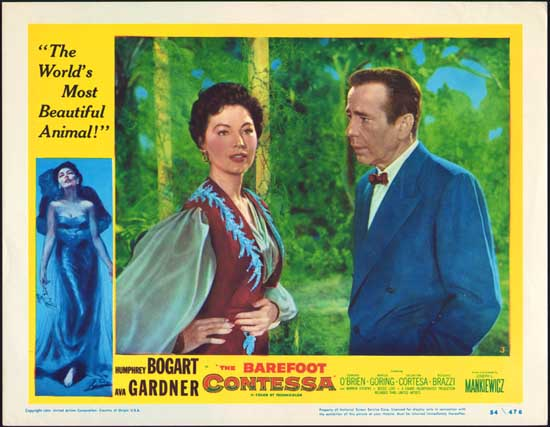 Barefoot Contessa, The US Lobby Card number 3