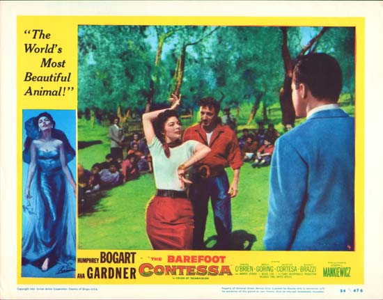Barefoot Contessa, The US Lobby Card number 4