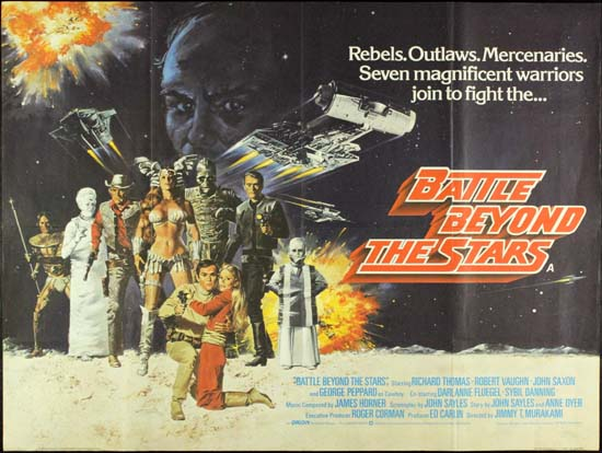 Battle Beyond the Stars UK Quad movie poster