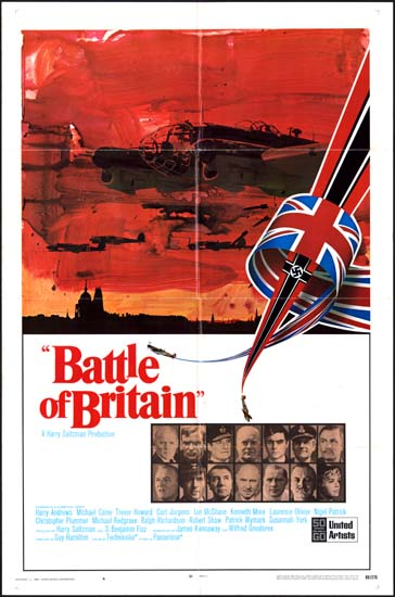 Battle of Britain US One Sheet international A movie poster
