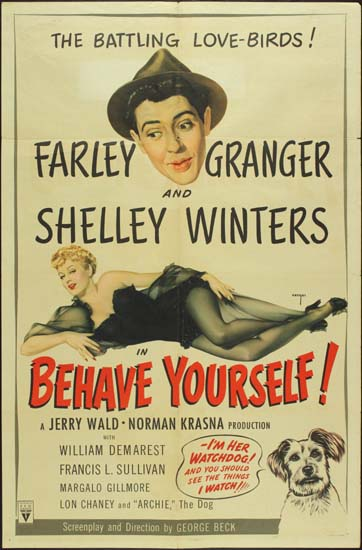 Behave Yourself US One Sheet movie poster