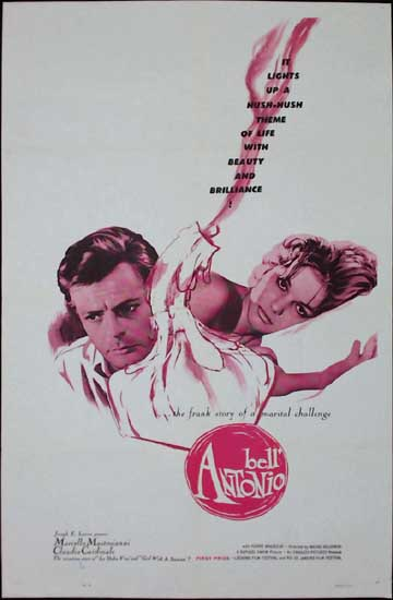Bell Antonio US One Sheet movie poster
