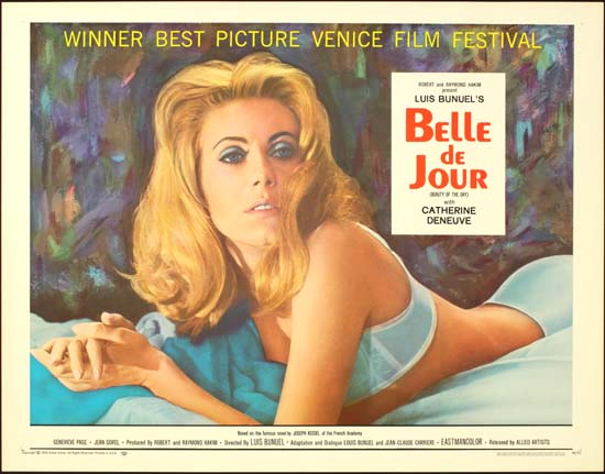 Belle De Jour US Half Sheet movie poster