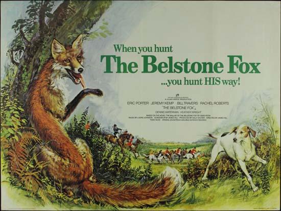 Belstone Fox, The UK Quad movie poster