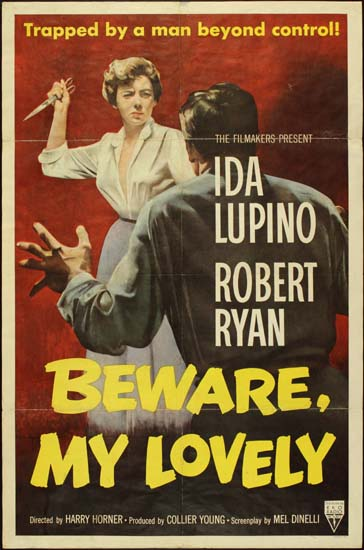 Beware My Lovely US One Sheet movie poster
