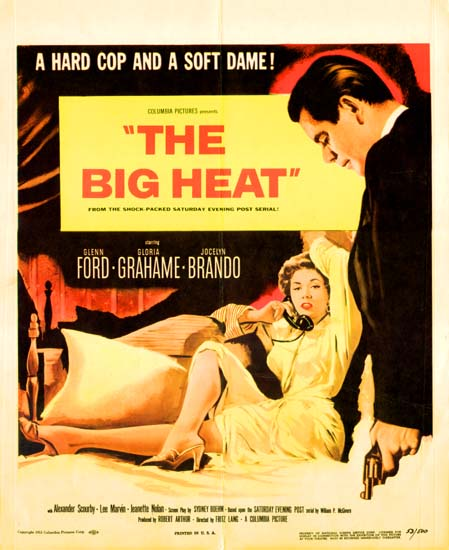 the big heat movie analysis Overview of the big heat, 1953, directed by fritz lang, with glenn ford, gloria grahame, jocelyn brando, at turner classic movies.