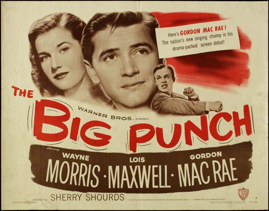 Big Punch, The US Half Sheet movie poster