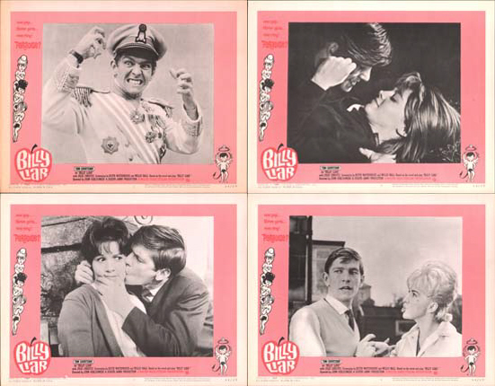 Billy Liar US Lobby Card Set of 8