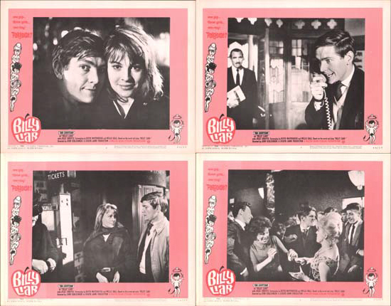 Image 2 of Billy Liar US Lobby Card Set of 8