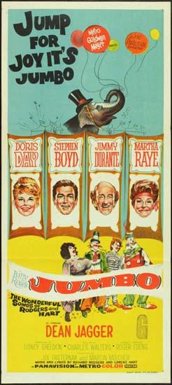 Billy Roses Jumbo Australian Daybill movie poster