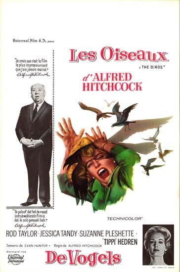 Birds, The Belgian movie poster