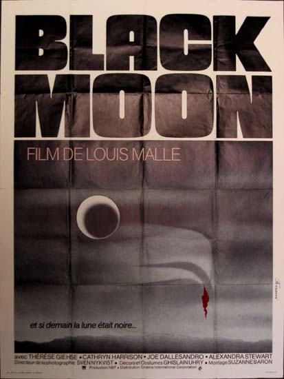 Black Moon French Grande movie poster