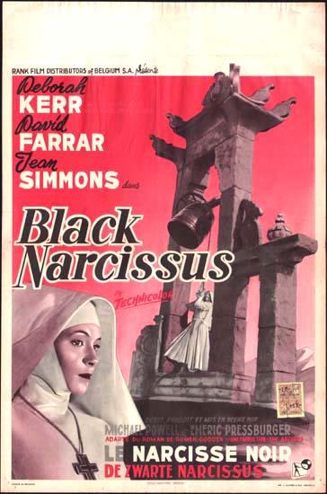 Black Narcissus Belgian movie poster