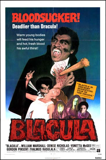 Blacula US One Sheet movie poster